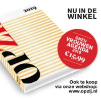 Vrouwenagenda (€ 15,99) cadeau bij jaarabonnement (6  nummers voor € 41,50)