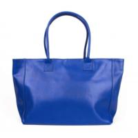 Al abonnee? Koop de lederen tas met € 15,- korting. De kobaltblauwe lederen tas uit Florence t.w.v. € 56,95 voor € 41,95