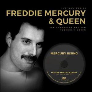 Freddie Mercury & Queen. Boek en DVD.